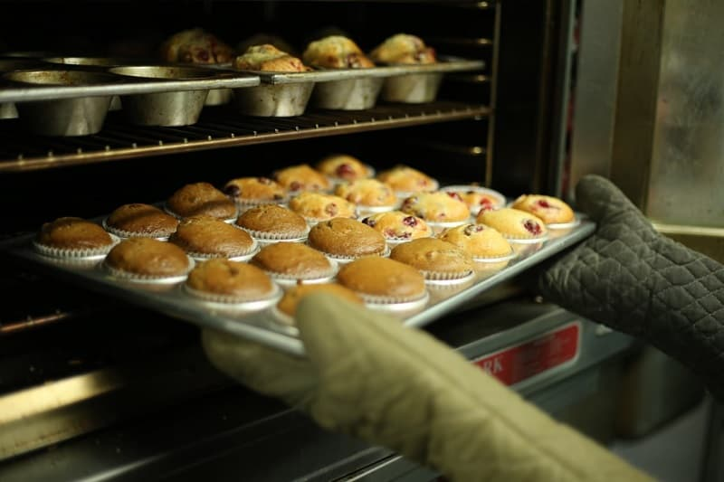 muffins baking in oven to take baking to the next level