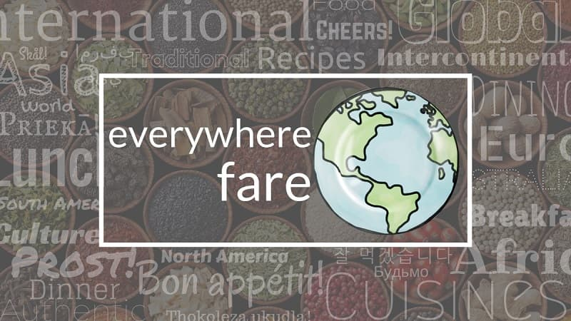 Everywhere Fare Word Cloud Cover Image