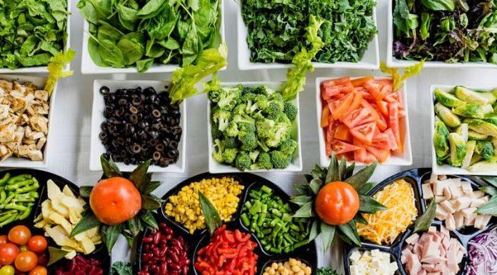 lots of vegetables veggies for diet