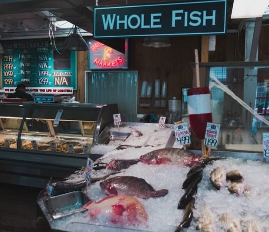 Portland Maine seafood shop is a great stop for foodies on an East Coast road trip