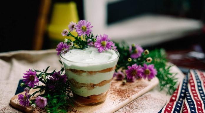 tiramisu in glass Italian wedding desserts